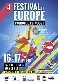 Festival Color of Europe • base loisir de Bois-le-Roi 16 & 17 mai